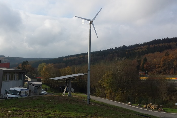 ANTARIS 4.5 kW installed in Spa Belgium