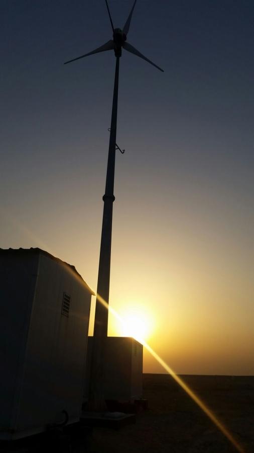 ANTARIS Windturbine working in the Mongolei | Braun Windturbinen GmbH