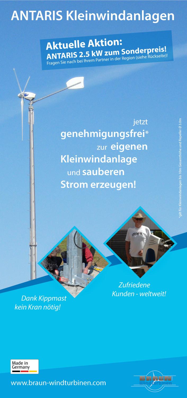 Start   Braun Windturbinen GmbH